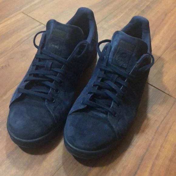 czech adidas stan smith blue suede be4a4 41652
